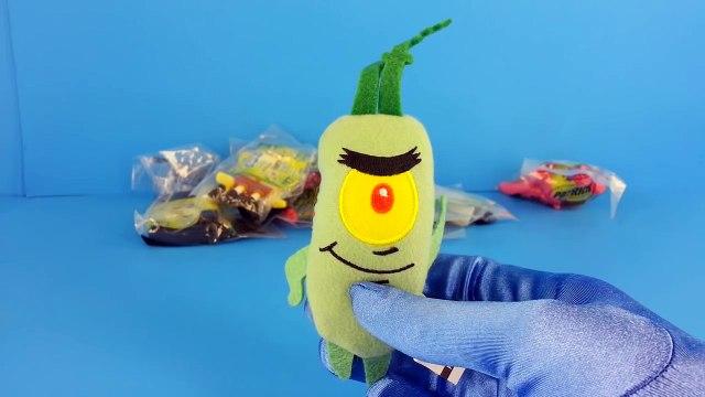 SpongeBob SquarePants Toys Sonic Wacky Pack with Patrick Star Plankton SpongeBob Doodlebob