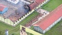 Nach Blutbad in Gefängnis: Häftlinge in Brasilien auf der Flucht