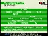 RUGBY-GALLES-FRANCE-COMPOSITION DU XV DE FRANCE