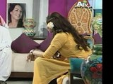SEXY HOT Pakistani MILF TV Host Farah Hussain wearing tight brown jeans and sand