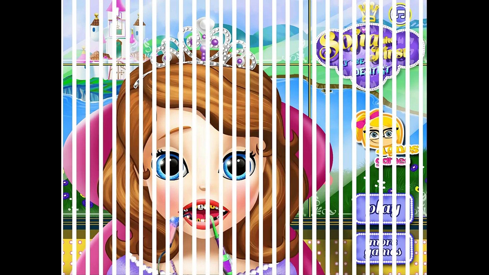 Мультик для девочек—Принцесса София у стоматолога—Игры для детей/Sofia The First At The Dentist