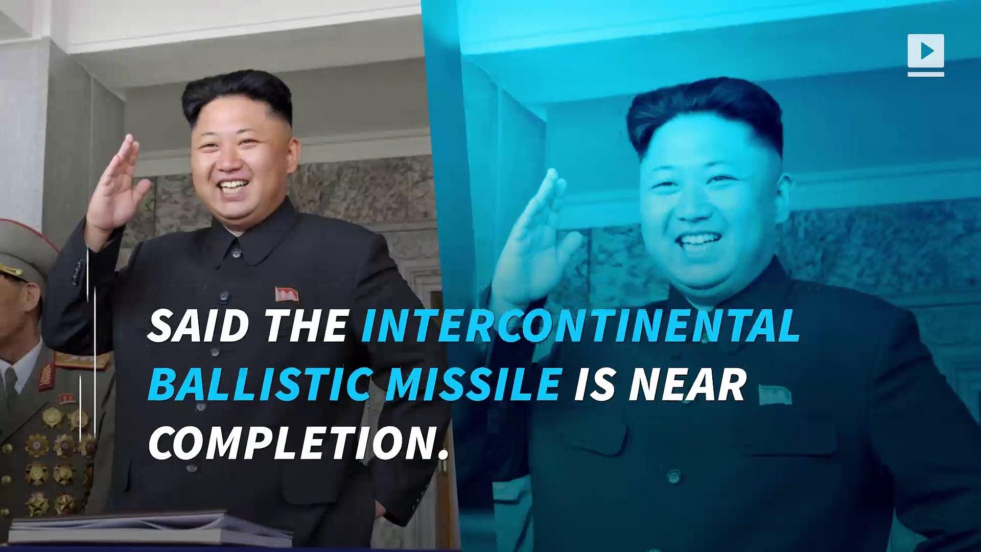 Trump: North Korea nuclear strike 'won't happen'