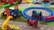 Thomas & Friends Mega Bloks Victor Kevin Sodor Steamworks Toby Percy Stephen Lego Duplo Toy Trains