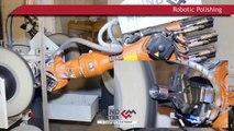 Robotic Grinding & Polishing Machine by Grind Master