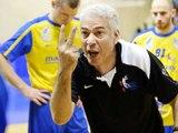 Hand Day explication entre les deux Coachs  Billère et Mulhouse