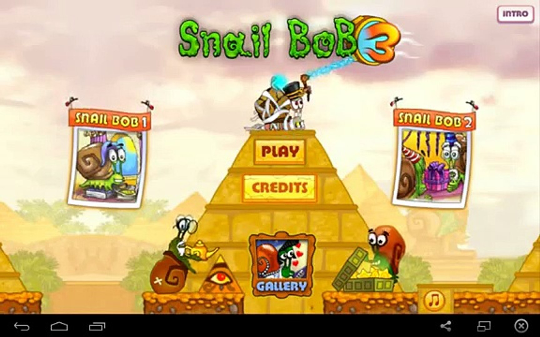 Snail Bob 3 for Android GamePlay