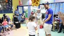 حفل عيد ميلاد لاطفال مرضى السرطان مستشفى بنك الكويت الوطني