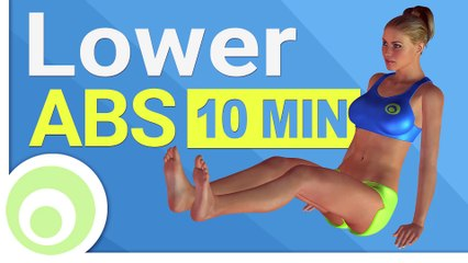 Lower AB Workout  10 Minute Exercises for Lower Abs