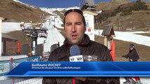 Hautes-Alpes : La station d'Orcières Merlette continue la production de neige de culture en bas des pistes