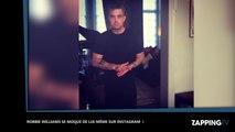 Robbie Williams critiqué par ses fans, il réagit avec humour sur Instagram