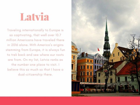 The #1 Place to Visit in Latvia