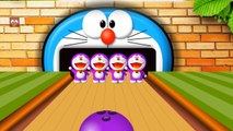 Learn Colors with Colors Bowling Game   Doraemon Bowling   Learning colors for Children