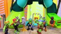 Teenage Mutant Ninja Turtles Half Shell Heroes Kick Out of the Shadows Ninja Turtles from Sewer Lair-dQnXpLmO7r8