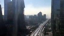 Quand Pékin disparait sous un nuage de pollution