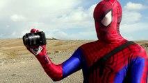 Spiderman vs Darth Vader Star Wars Superhero Animation