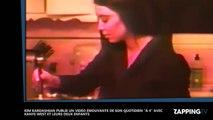 Kim Kardashian maman comblée : les premiers pas de son fils Saint West !
