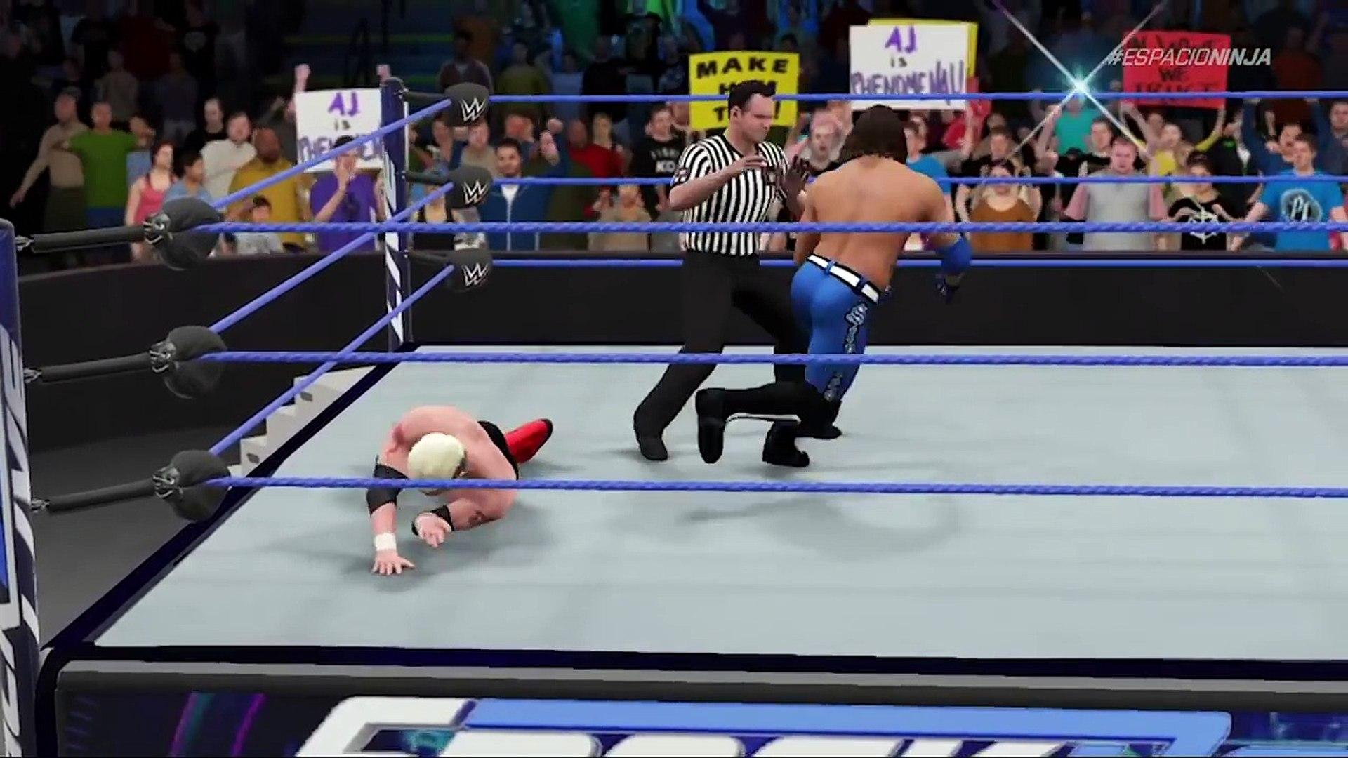 James Ellsworth Wins The WWE World Championship On Smackdown Live! - WWE 2K17 Custom Storyline