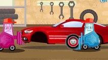 Der Gelbe Bagger und Der Traktor Die große Autos für Kinder Cartoon für Kinder