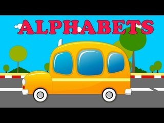 Alphabet Bus   Learn the alphabets