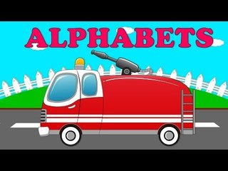 Fire engine Alphabets