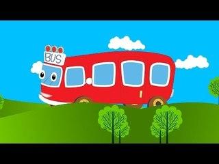 Wheels On The Bus   Nursery Rhyme for Children