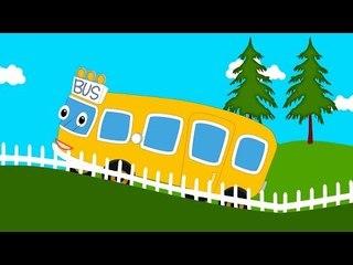 Wheels On The Bus Nursery Rhyme