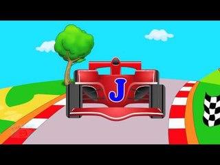 Race Cars Alphabets   Learn Alphabets