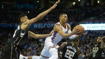 Russell Westbrook TROLLS Bucks Fans w/ Discount Double Check, Gets BLOCKED by Giannis Antetokounmpo