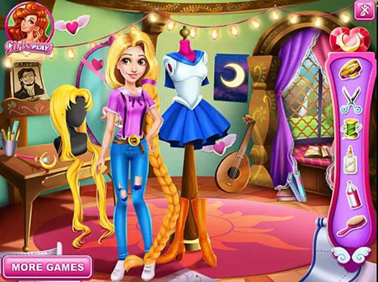 Играть онлайн бесплатно принцесса рапунцель