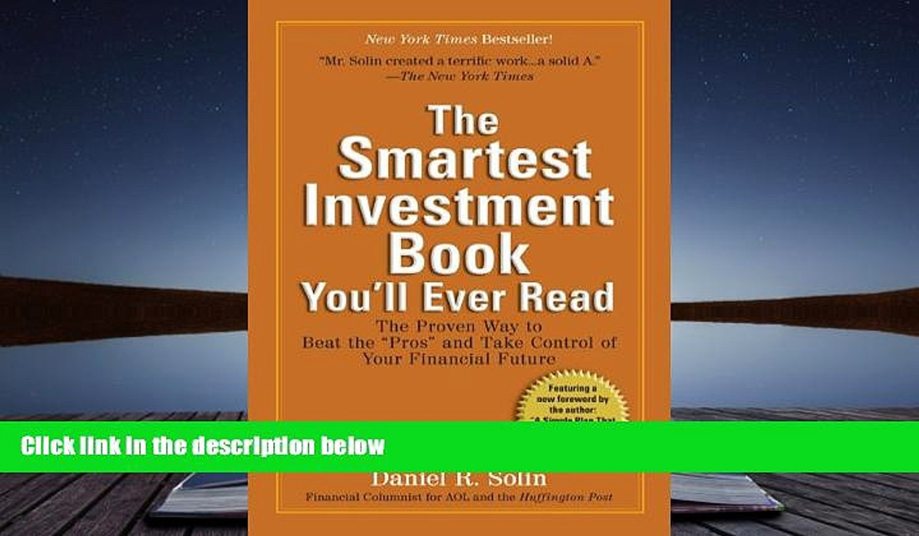 Read  The Smartest Investment Book You ll Ever Read: The Proven Way to Beat the