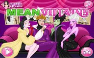Mean Villains - Ursula, Cruella, Maleficent and Evil Queen - Makeup and Hairstyle Game