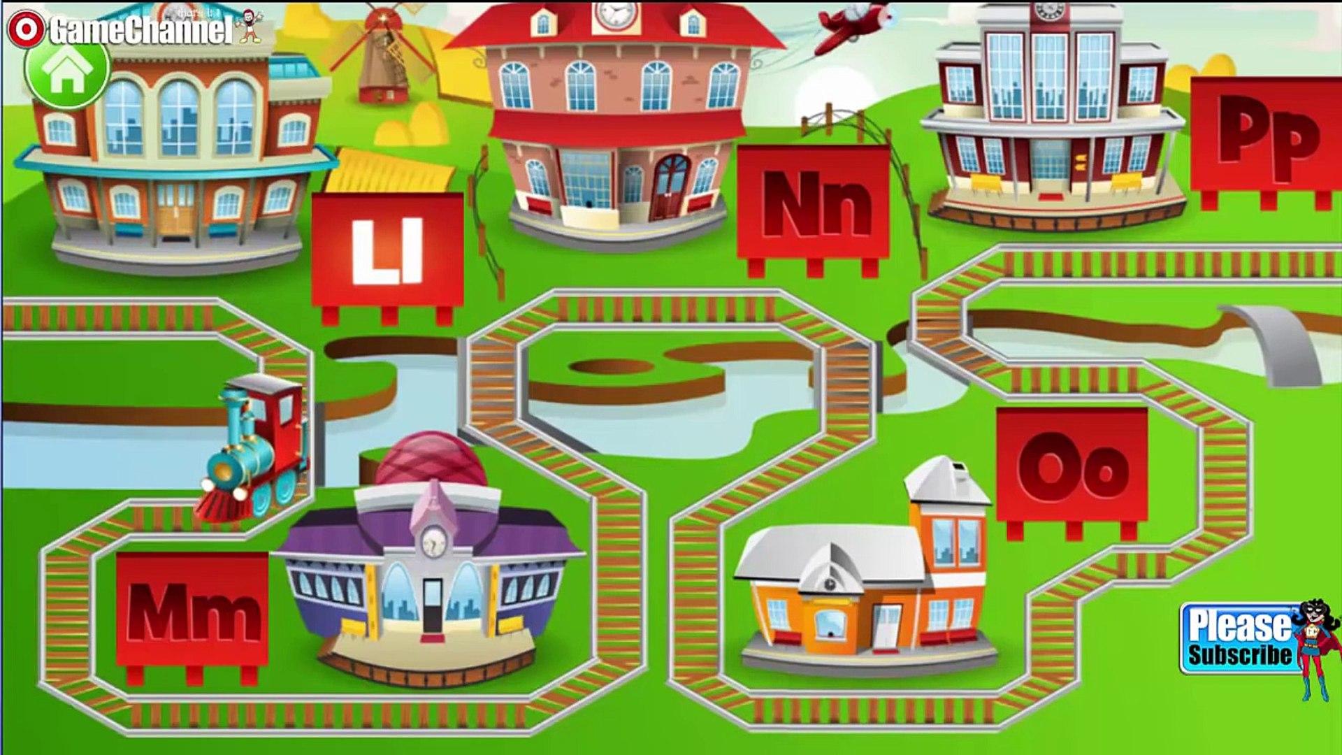 Kids ABC Letter Trains Educational Education 'Preschool Learning' kids ages 2-7 #1