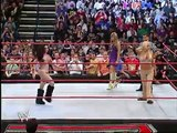 WWE Melina and Jillian Hall vs  Candice Michelle and Mickie James