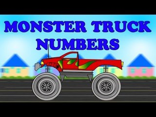 Monster Truck Numbers