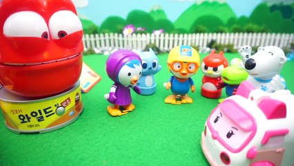 Ocean Adventure Octonut KineticSand Sand Play Pororo Toy Animation