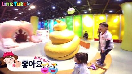 Incheon Children Science museum Pororo Indoor LimeTube&Toy