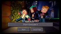 Minecraft: Story Mode Ep. 6: A Portal to Mystery - iOS / Android - Walkthrough Gameplay Part 1
