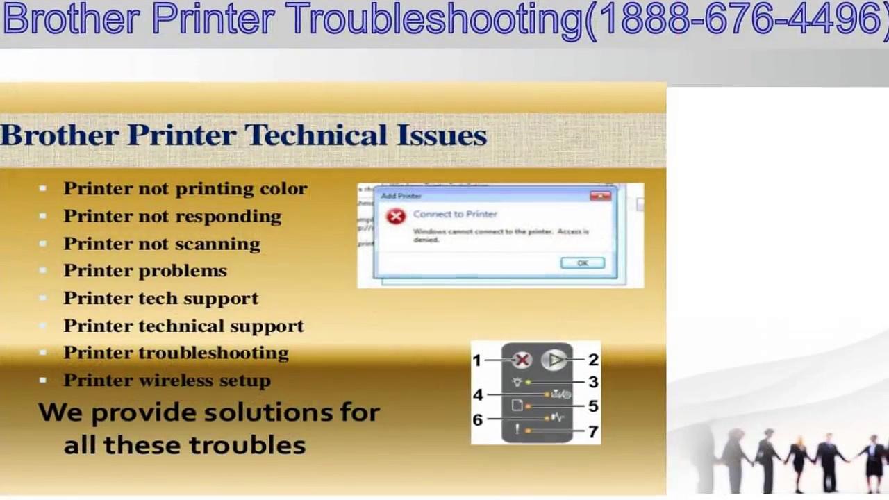 #Brother Printer Troubleshooting Steps – Help desk Number – 1-888-676-4496