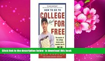 [PDF]  How to Go to College Almost for Free: The Secrets of Winning Scholarship Money Benjamin R.