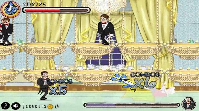Regular Show - Fist Punch [ Full Gameplay ] - Regular Show Games