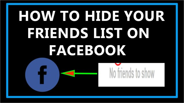 How To Hide Your Friends List on Facebook?
