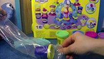 Pâte à modeler Glacee ♥ - Play Doh Ice cream - jouer avec les enfants avec la pate a modeler