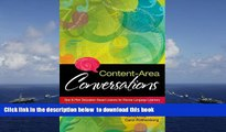 PDF [FREE] DOWNLOAD  Content-Area Conversations: How to Plan Discussion-Based Lessons for Diverse