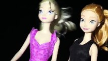 Frozen Elsa Barbie amp Anna Doll Hawaii Snorkeling Manta Rays DisneyCarToys Spooky Halloween