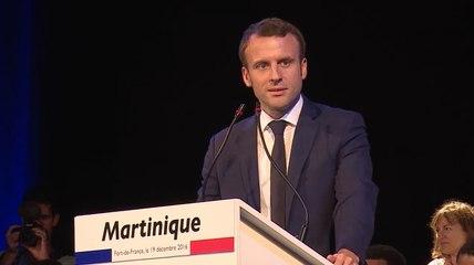 La Martinique est en marche   Emmanuel Macron