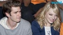 Andrew Garfield And Emma Stone High At Disneyland