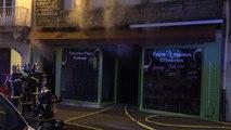 Incendie épicerie Avranches