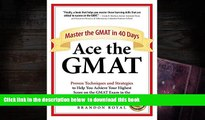 [PDF]  Ace the GMAT: Master the GMAT in 40 Days Brandon Royal Full Book