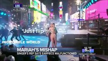 Mariah Carey EPIC Lip Sync DISASTER (VIDEO) Mariah Carey New Year's Eve MELTDOWN!!!!