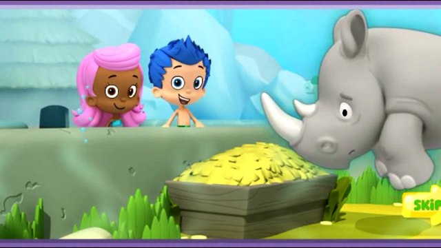 Bubble Guppies Episodes for Children- Lonely Rhino Friend Finders!